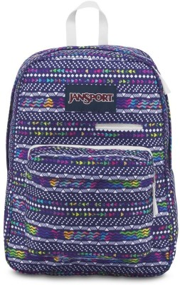 JanSport Digibreak Tribal Wave Multi 25 L Laptop Backpack(Multicolor)