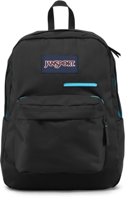 JanSport Digibreak Black 25 L Laptop Backpack(Black)