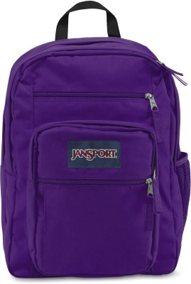 JanSport Big Student Signature Purple 34 L Backpack(Purple)