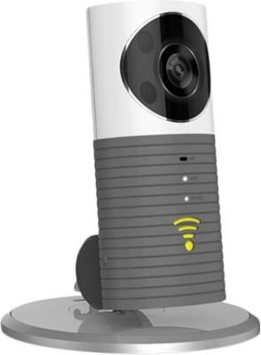 View ShopyBucket CLEVER Dog Wifi Wireless Security WiFi Surveillance Remote View Camera Panoramic Camera 180 50 Instant Camera(Grey) Price Online(ShopyBucket)