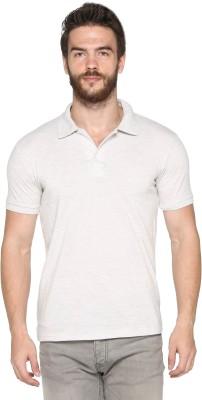 HARBOR N BAY Solid Men's Polo Neck Grey T-Shirt
