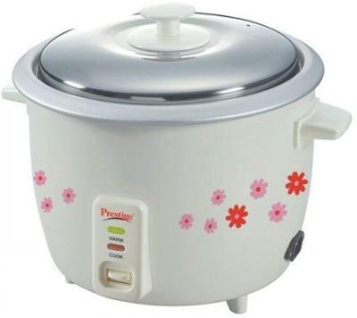 Prestige PRW 1.8 Electric Rice Cooker(1.8 L, White, Pink)