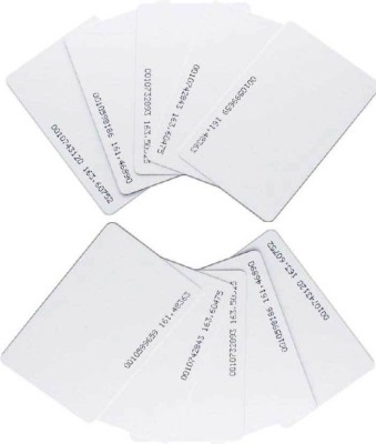 S-tech S-TECH SERIES STECH Set Of 50 Rfid Cards For Time Attendance Or Access Control System Having Rfid ISO Standard size:85.5x54x0.88mm Printer Paper(Set of 1, White)  available at flipkart for Rs.700