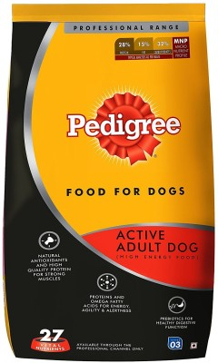 Pedigree Professional Active Adult Premium Chicken 10 kg Dry Dog Food