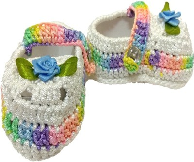 BABY FIRST STEP Booties(Toe to Heel Length - 10 cm, Multicolor)