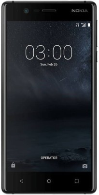 Nokia 3 (Matte Black, 16 GB)(2 GB RAM) at flipkart