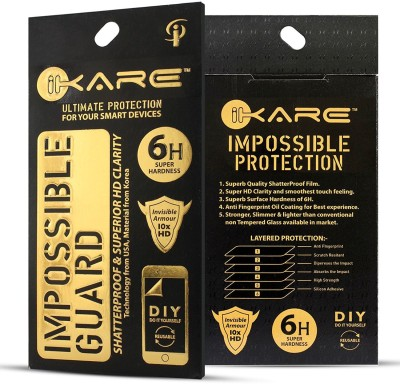 iKare Impossible Screen Guard for Lenovo K8(Pack of 2)