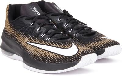 Nike AIR MAX INFURIATE LOW Sneakers For Men(Black, Gold) 1