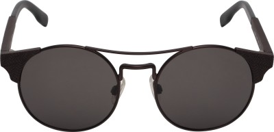 Boss Orange Round Sunglasses(Brown) at flipkart