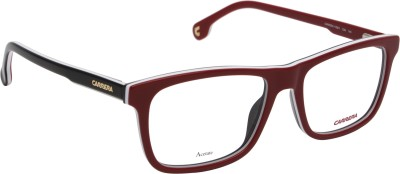 Carrera Retro Square Sunglasses(Clear) at flipkart