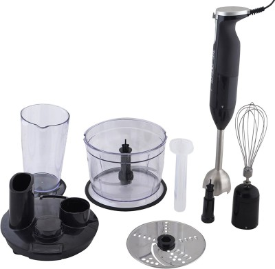 Shrih Stylish Chopper and Slicer 600 W Chopper, Stand Mixer, Hand Blender(Black)