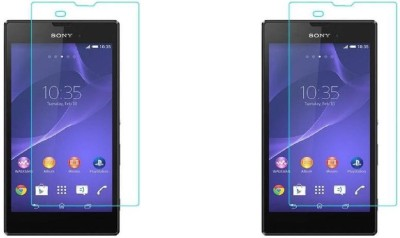 COZR Tempered Glass Guard for Sony Xperia T3(Pack of 2)