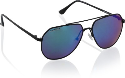Fastrack Aviator Sunglasses(Black)
