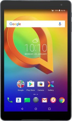 View Alcatel A3 10 16 GB 10 inch with Wi-Fi Only Tablet(Black)  Price Online