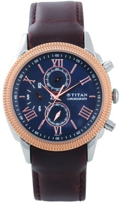 Titan 1489KL04 Classique Analog Watch For Men