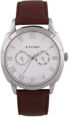 Titan 1489SL02 Smart Steel Analog Watch For Men