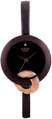 Titan 95051KM01F Raga Espana Analog Watch For Women