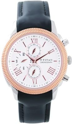 Titan 1489KL03 Classique Analog Watch For Men