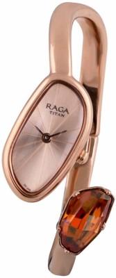 Titan 95055WM01F Raga Espana Analog Watch For Women
