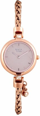 Titan 2584WM01F Raga Espana Analog Watch For Women