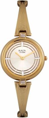 Titan 2581YM01F Raga Espana Analog Watch For Women