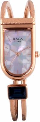 Titan 95063WM01F Raga Espana Analog Watch For Women