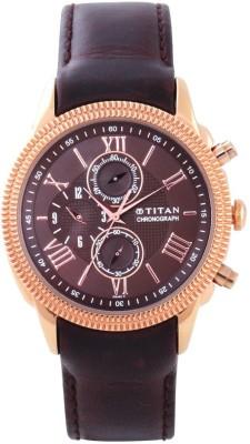 Titan 1489WL02 Classique Analog Watch For Men