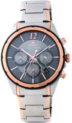 Titan 1748KM01 Regalia Sovereign Analog Watch For Men