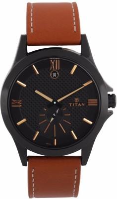 Titan 9323NL02 Smart Steel Analog Watch For Men