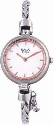 Titan 2584SM01F Raga Espana Analog Watch For Women
