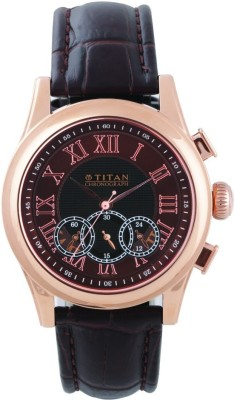 Titan 1562WL03 Classique Analog Watch For Men