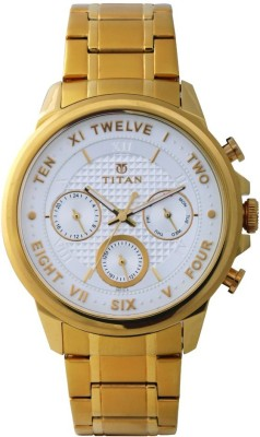 Titan Regalia Sovereign Analog Watch - For Men