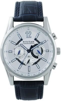 Titan 9322SL10 Classique Analog Watch For Men