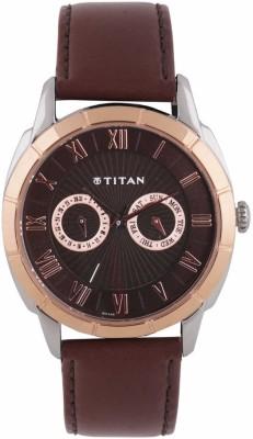 Titan 1489KL02 Smart Steel Analog Watch For Men