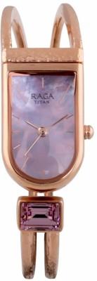 Titan 95063WM02F Raga Espana Analog Watch For Women