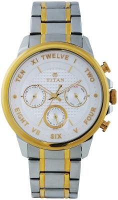 Titan 1747BM01 Regalia Sovereign Analog Watch For Men