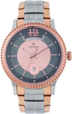 Titan 1751KM01 Regalia Sovereign Analog Watch For Men