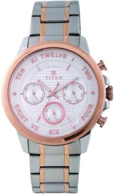 Titan 1747KM01 Regalia Sovereign Analog Watch For Men