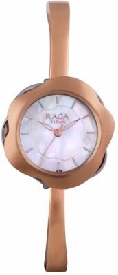 Titan 95057KM01F Raga Espana Analog Watch For Women