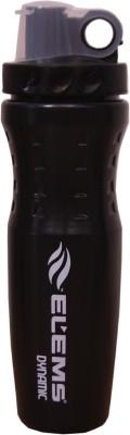 ELEMS Dynamic 600 ml Shaker Pack of 1, Black, Plastic
