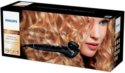 Philips ProCare Auto Curler HPS940/00 Curling Iron (Long-Lasting Salon Style Hair Curler(Black)