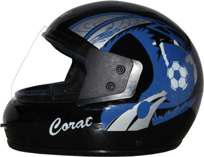RIDER Full Face ISI Mark Solid Plastic With Visor Motorbike Helmet(Black)  available at flipkart for Rs.549