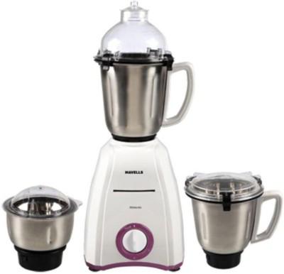 Havells Momenta 600 W Mixer Grinder 600 W Mixer Grinder(White, 3 Jars)