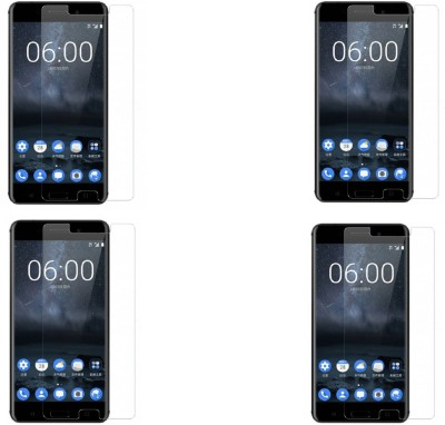 Mocell Tempered Glass Guard for Nokia 6(Pack of 4) at flipkart