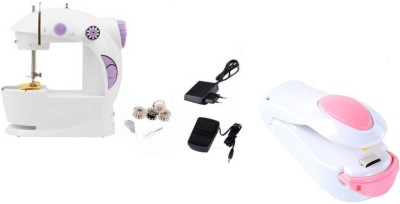 Benison India Home Maker™ Sewing Machine Mini 2-Speed Double Thread,...