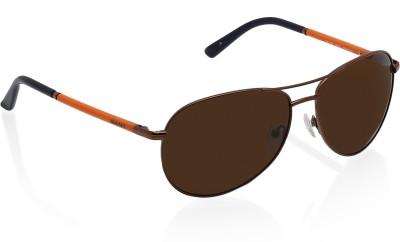 Gant Aviator Sunglasses(Brown) at flipkart