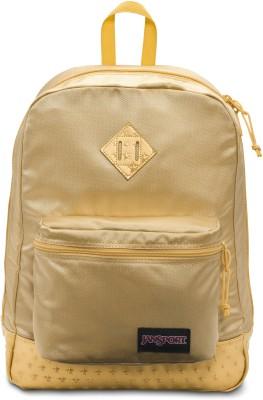 JanSport Super Fx 25 L Backpack(Gold)