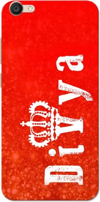 Aseria Back Cover for Slim Fit Hard Case Cover for V5 Lite/Vivo Y66(Divya Red, Plastic)