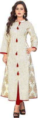 Vbuyz Festive & Party Printed Women Kurti
