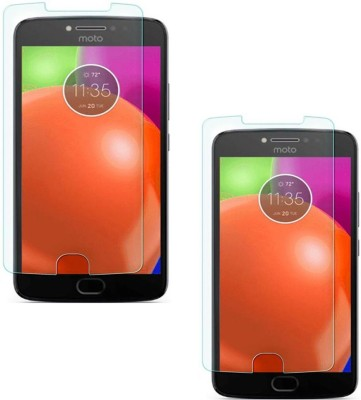 Mocell Tempered Glass Guard for Motorola Moto E4 Plus(Pack of 2)